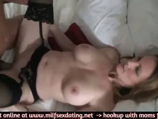 Me having good sex with a mature MILF from internet