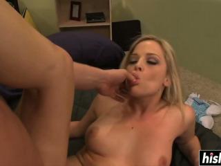 Her fucking skills make him cum